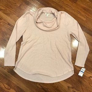 Style & Co Cowl Neck Long Sleeve Pullover Sz XL